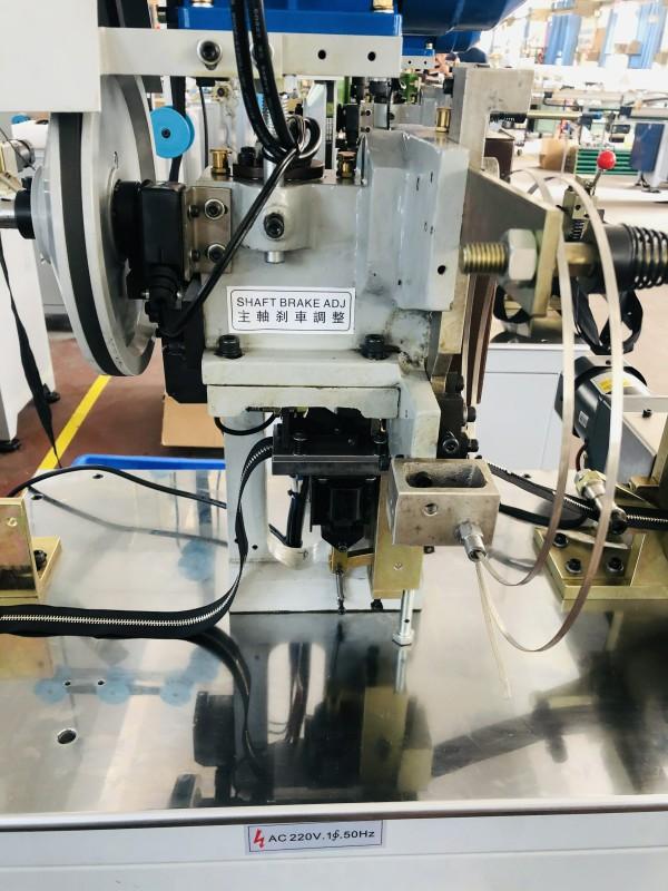 Latest metal zipper bottom stop machine manufacturers manufacturers for zipper production-2