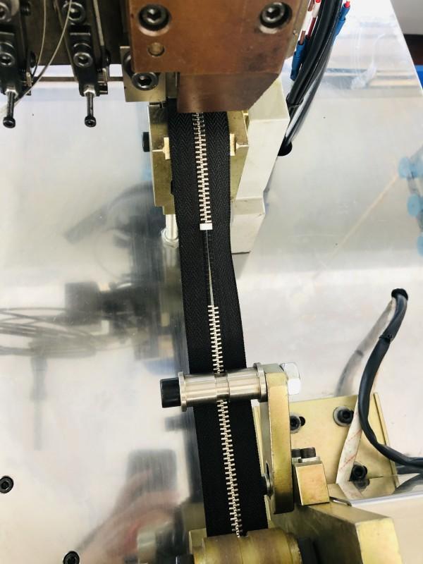 Latest metal zipper bottom stop machine manufacturers manufacturers for zipper production-3