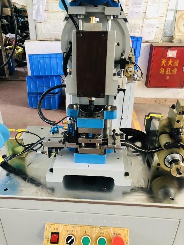 Zhenyu metal zipper hole punching machine Supply for zipper production-2