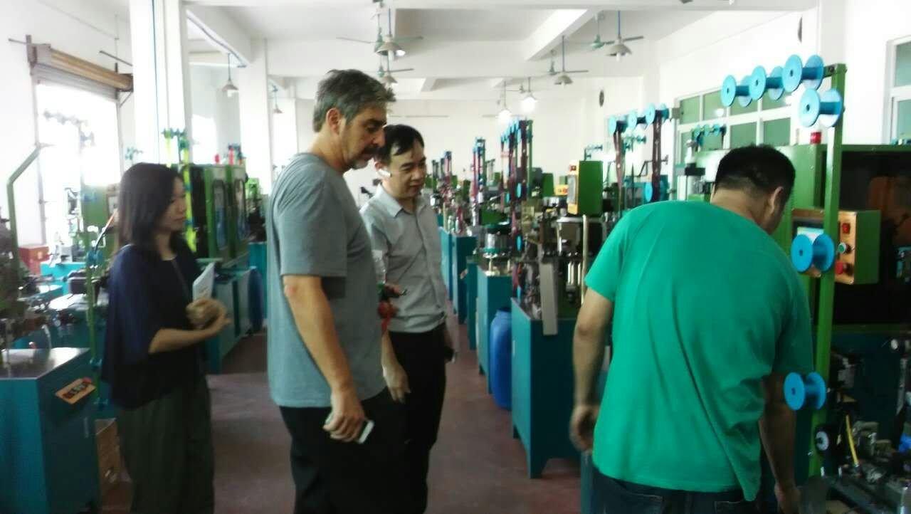 zhenyu zipper machine factory