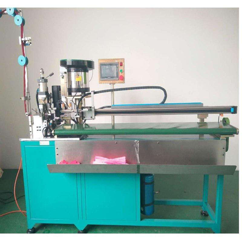 nylon bag zipper making machine, cutting machine