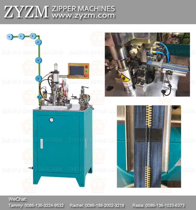 film tape zipper machine, zipper machine equipment