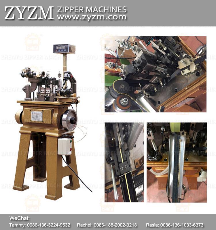 metal zipper teeth machine, zyzm