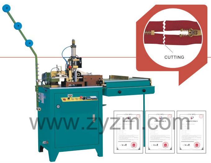 zipper cutting machine