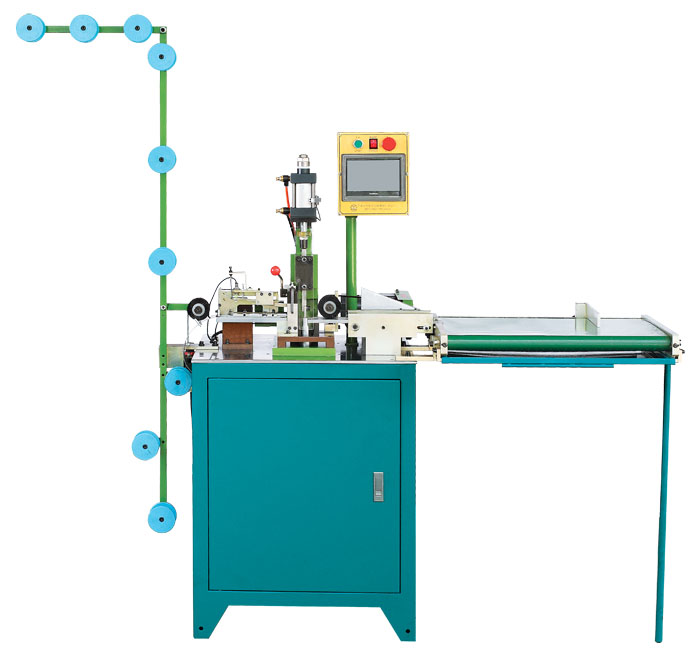 ultrasonic zipper cutting machine, zhenyu