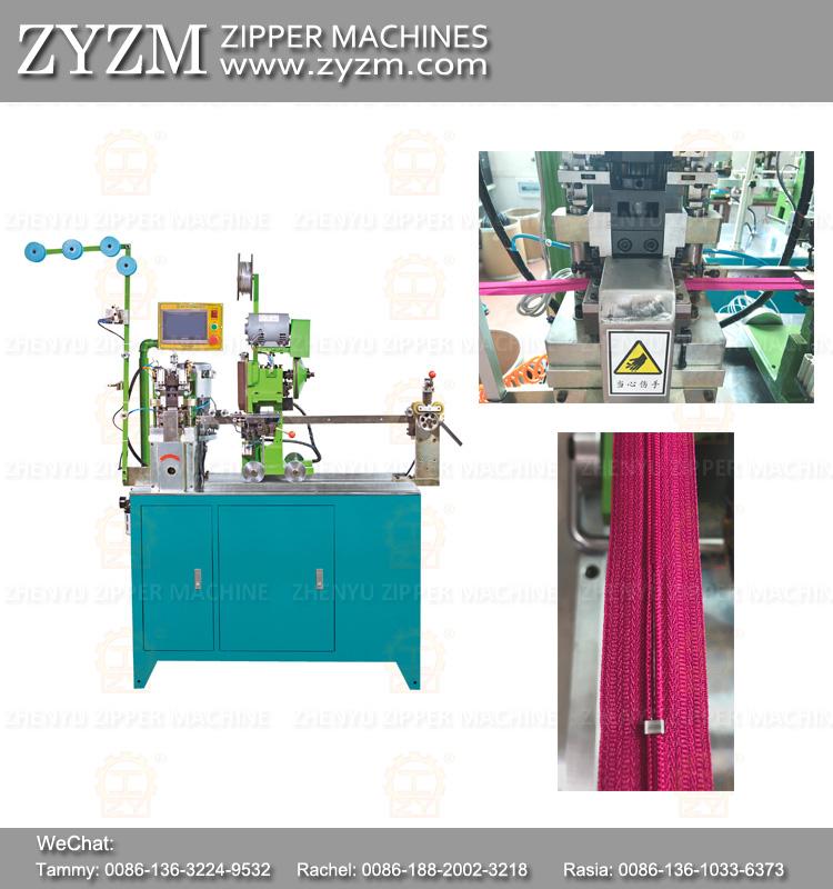 zipper machine