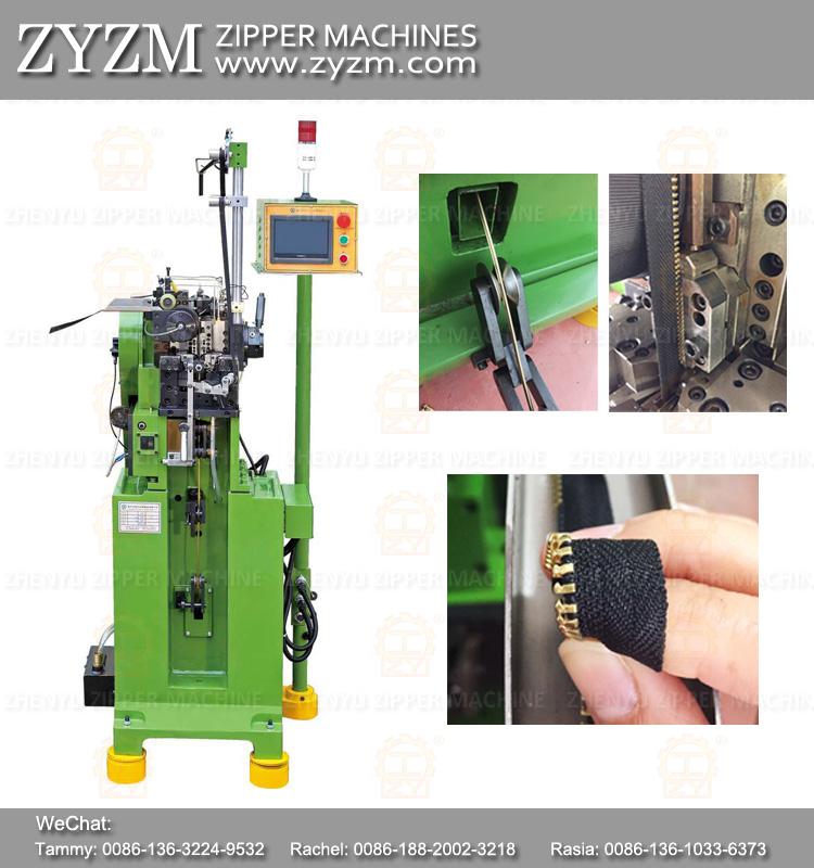 zipper maker machine, y teeth machine