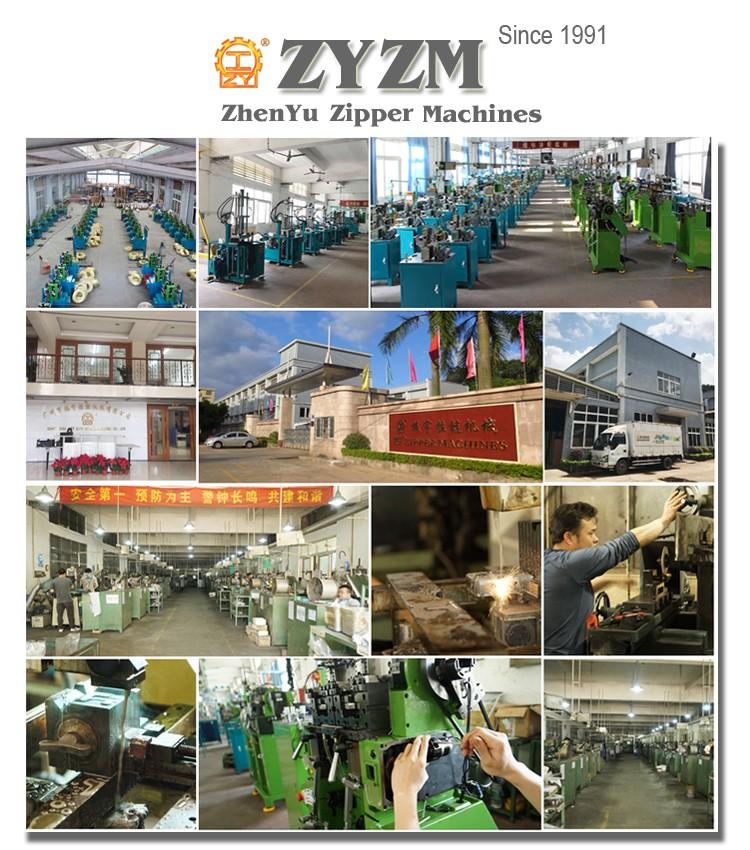 zyzm, zhenyu zipper machines factory