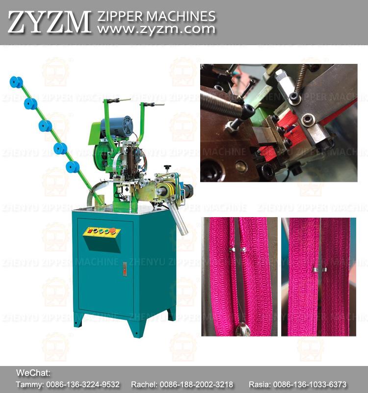 zipper top stop machine for nylon zipper