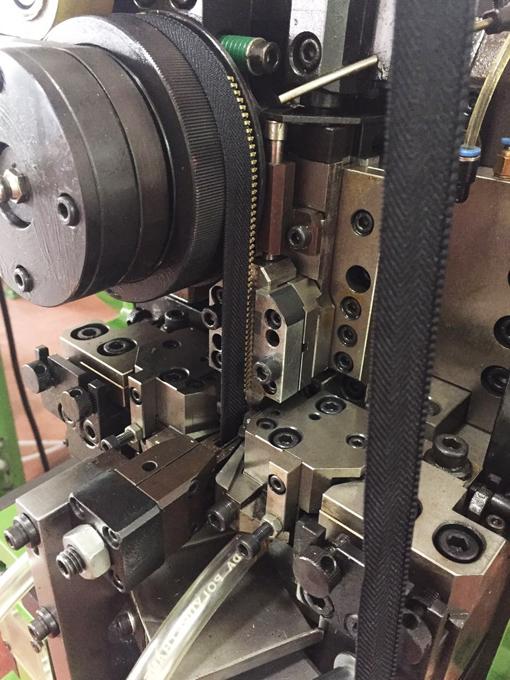 Top metal zipper teeth making machine Supply for zipper production-2