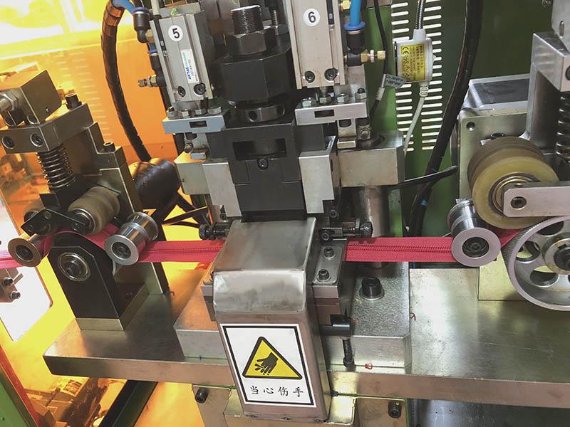 Zhenyu metal zipper stripping machine factory for zipper production-2