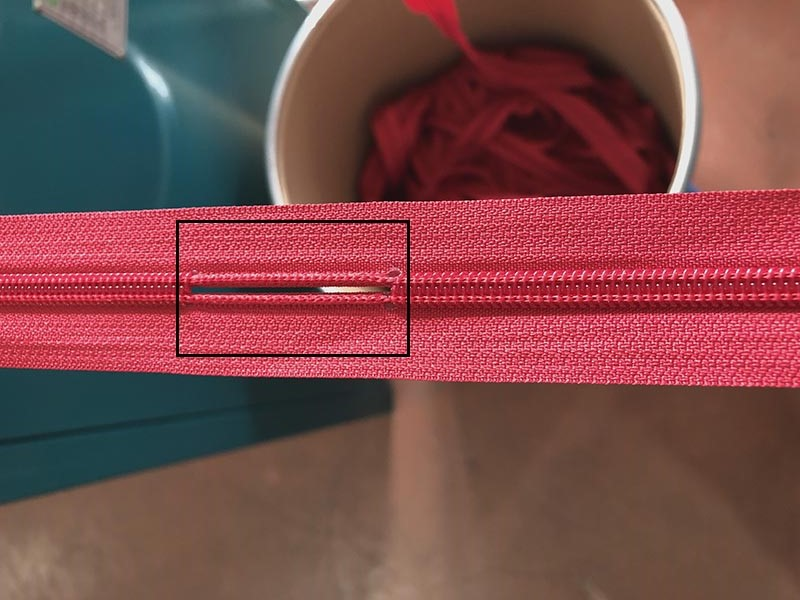 Zhenyu metal zipper stripping machine factory for zipper production-4