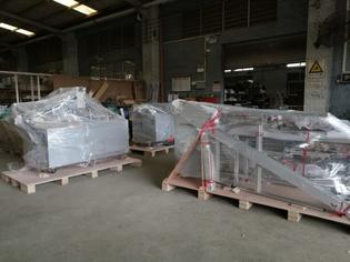 Shipment for Mask Making Machine