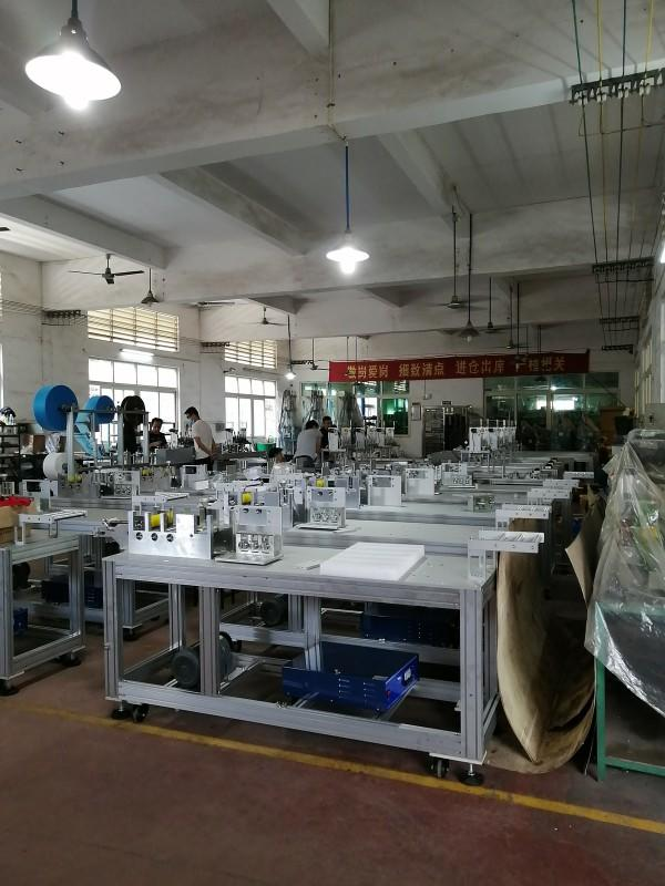 Automatic Mask Making Machine Is In Mass Production