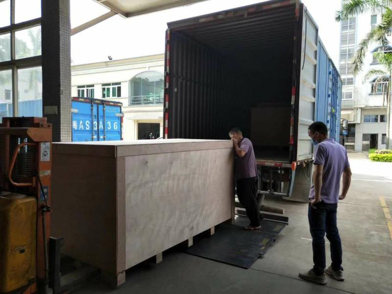 One More Shipment For Mask Making Machine
