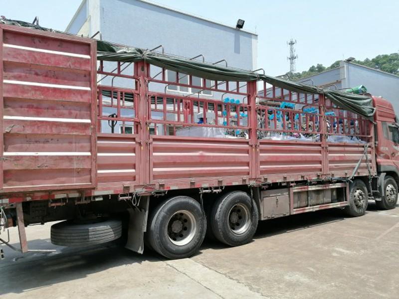 Shipment Again For Zhenyu Zipper Machine