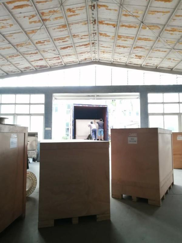 Busy Loading For Zhenyu Zipper And Mask Making Machines After Dragon Boat Festival