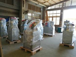 Zhenyu Zipper Machines Are Ready For Shipment To Morocco