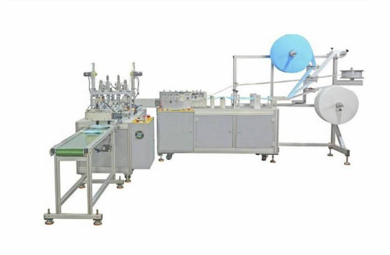 Cheap Price High Speed Full-auto Disposable Mask Making Machine With Servo Motor