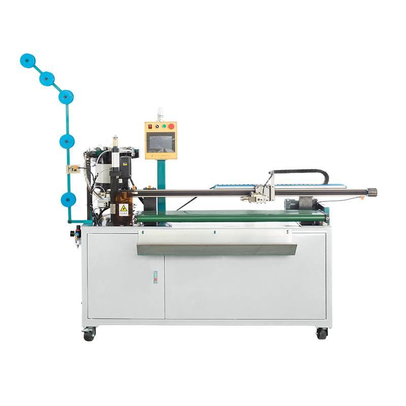 Full-auto Coil Nylon Zipper Making Machine ZY-709N (for luggage and bag zipper)