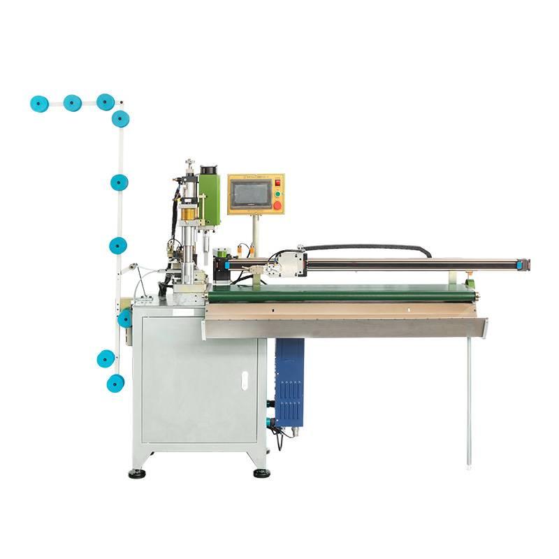 Full-automatic Open-end Zipper Ultrasonic Towing Cutting Machine ZY-302-D