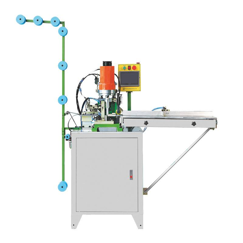 Automatic Pulling And Ultrasonic Open End Zipper Cutting Machine ZY-302-B