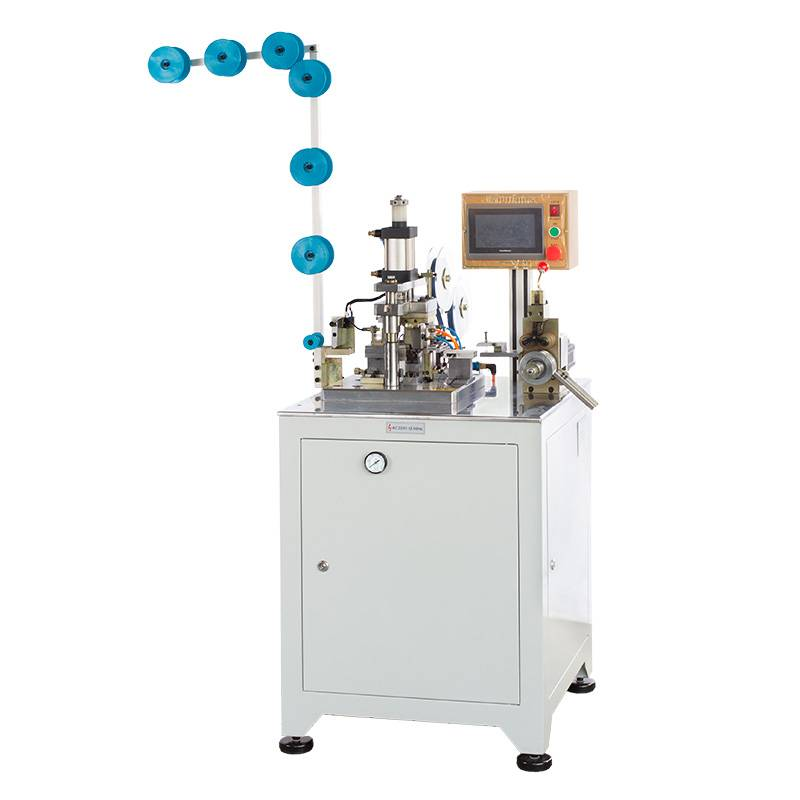 Full-automatic plastic zipper film sealing machine ZY-201R-C