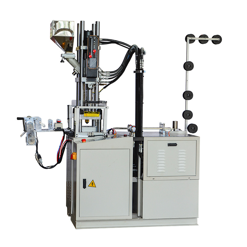 News plastic injection moulding machine factory for molded zipper production-1