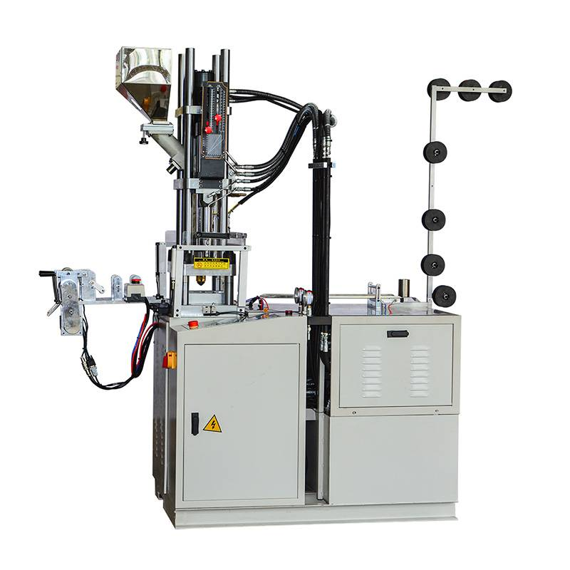 Full-automatic Plastic Zipper Open End Injection Machine( Pin and Box Injection Machine) ZY-604R