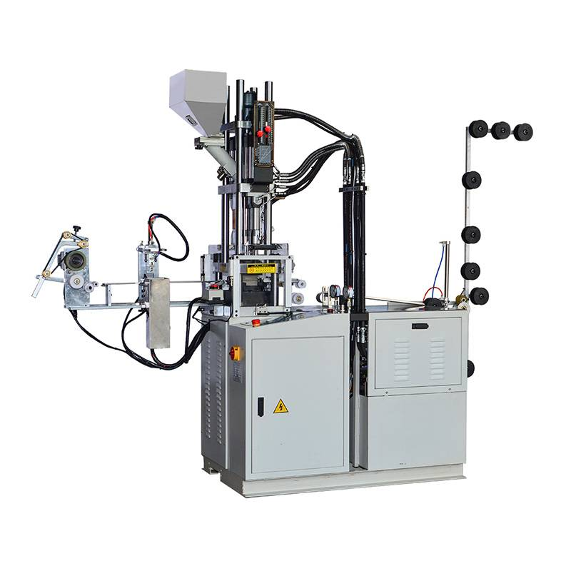 Full-automatic plastic Closed End Injection Machine (Zipper Bottom and Top Stop Injection Machine) ZY-604R-B
