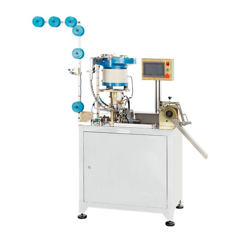 Full-automatic Zipper Slider Mounting Machine with Big Fancy Puller ZY-705-C