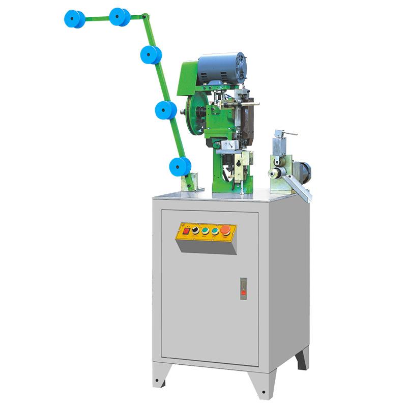 Latest metal zipper bottom stop machine manufacturers manufacturers for zipper production-1