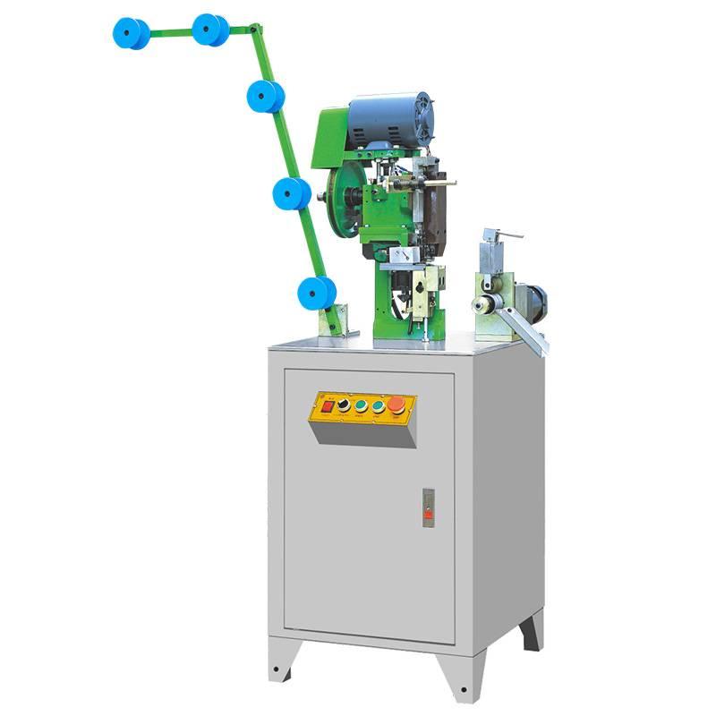 Full-automatic Metal Bottom Stop Zipper Machine ZY-401M