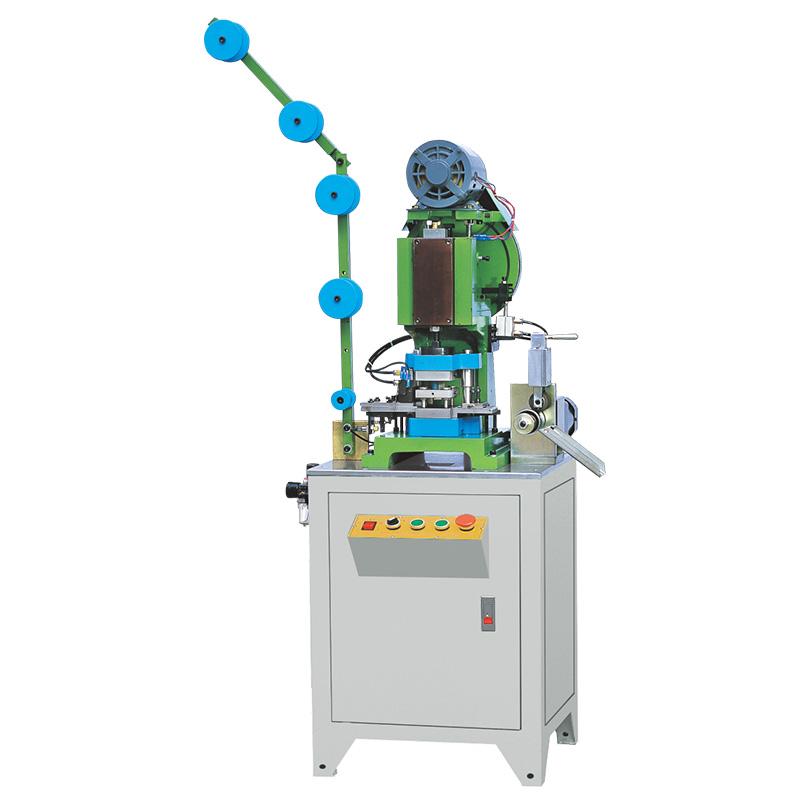 Zhenyu metal zipper hole punching machine Supply for zipper production-1