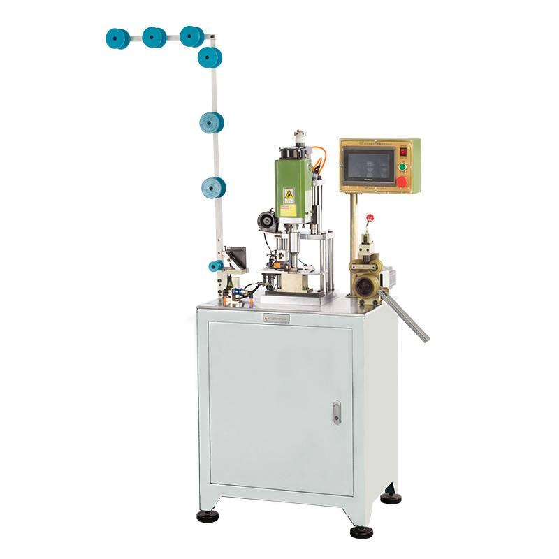 Fully Automatic Ultrasonic Zipper Hole Punching Machine ZY-301-B
