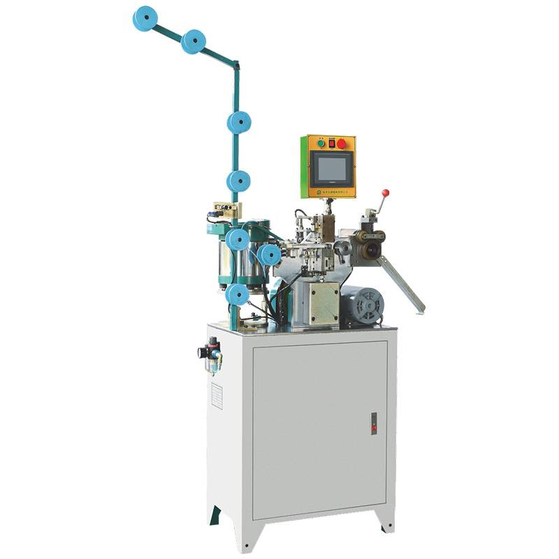 Full-automatic Zipper H-Shaped Multiple Particles Bottom Stop Machine (III) ZY-704M-B