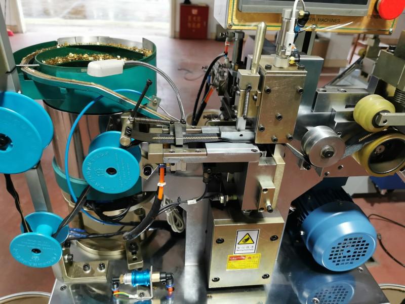 Zhenyu metal H bottom stop machine manufacturers for zipper manufacturer-2
