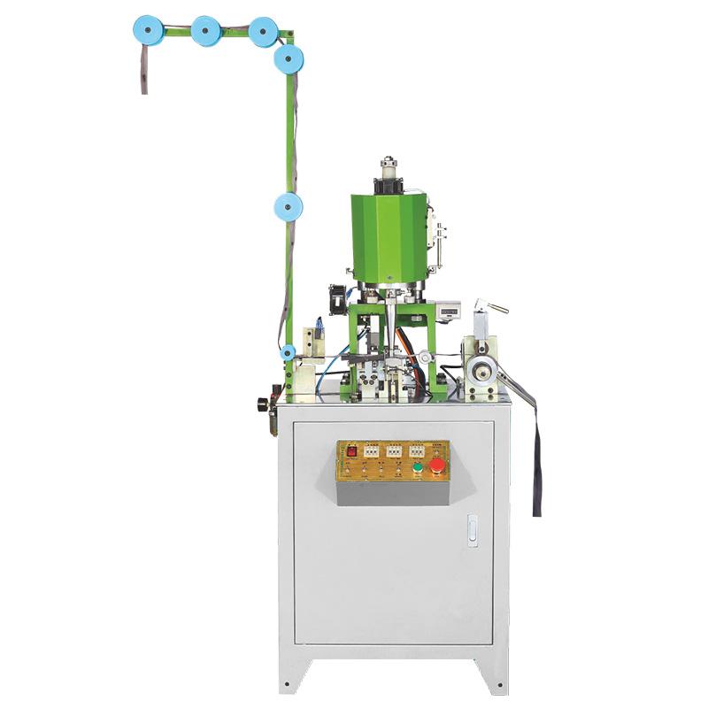 Zhenyu metal zipper bottom stop machine factory for zipper production-1