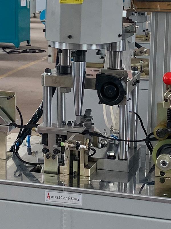 Zhenyu metal zipper bottom stop machine factory for zipper production-2