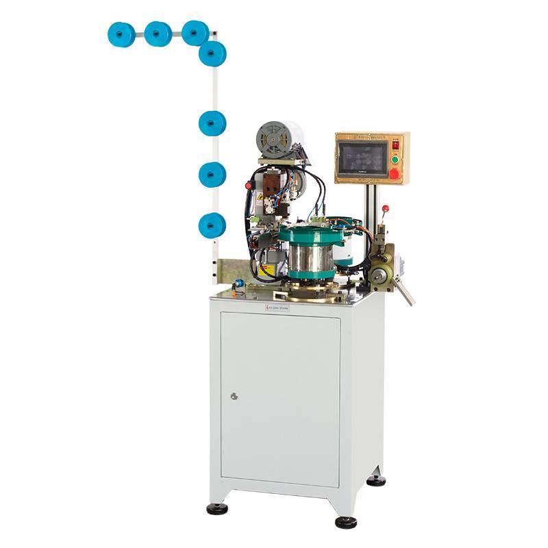Full-automatic Nylon Zipper Pin-box Pressing Machine (II) ZY-706N-B