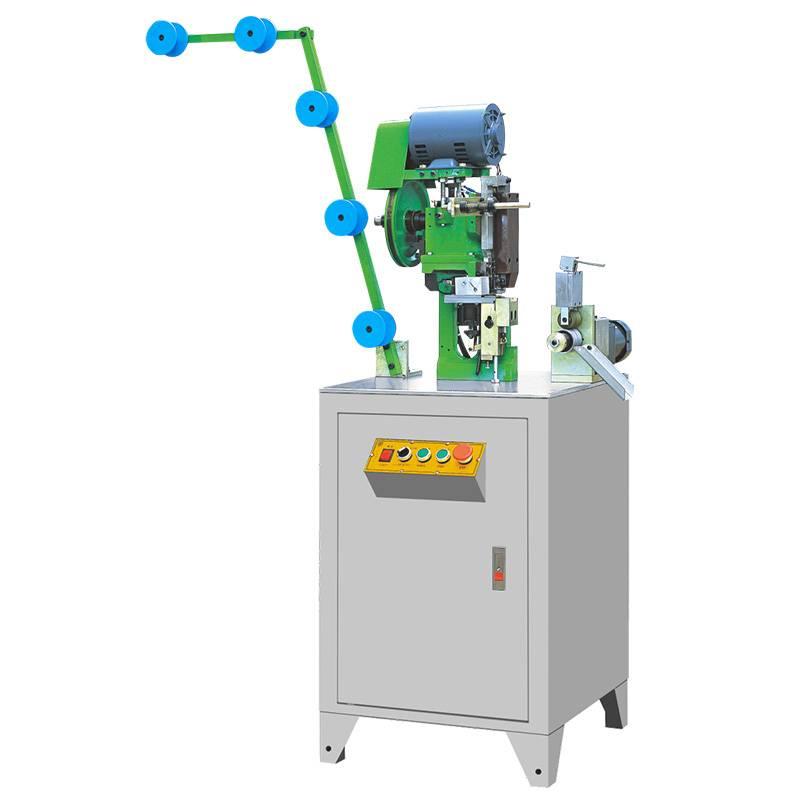 Full-automatic Nylon Bottom Stop Zipper Machine ZY-401N