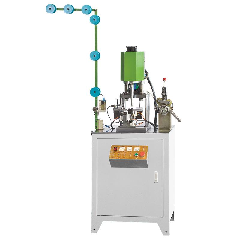 Full-automatic Nylon Zipper Bottom Stop Welding Machine ZY-206N-C