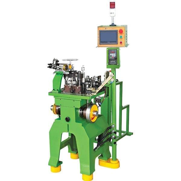 Metal Two Way Teeth (Corn-Type Teeth) Flat Wire Making Machine ZY-501M-I