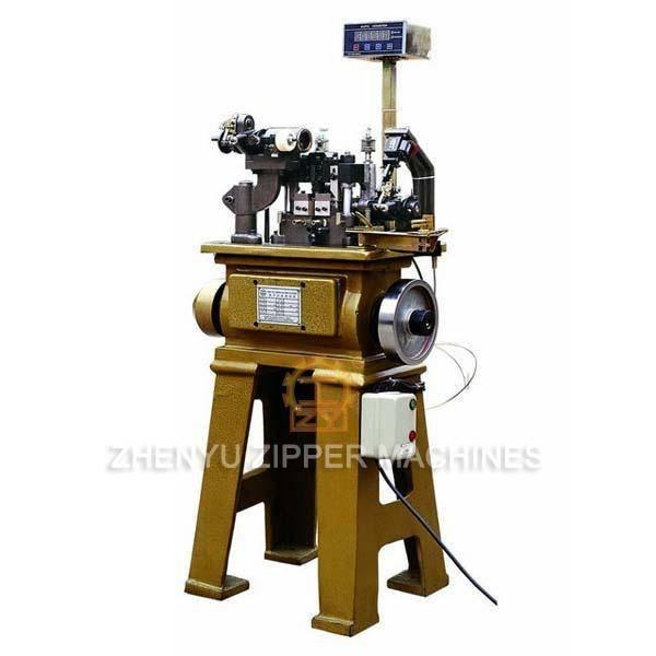 Normal Teeth Metal Zipper Making Machine ZY-501M