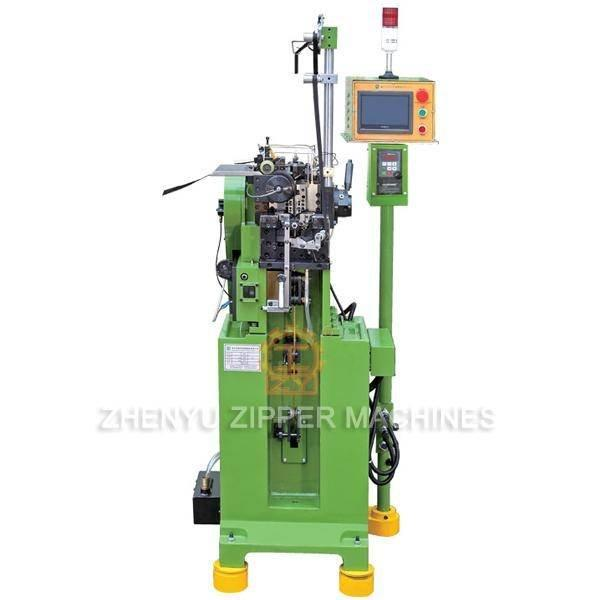 Y Type Double Roll And Single Side Zipper Teeth Making Machine