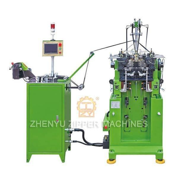 Double-Sided Y teeth Zipper Making Machine ZY-501M-F