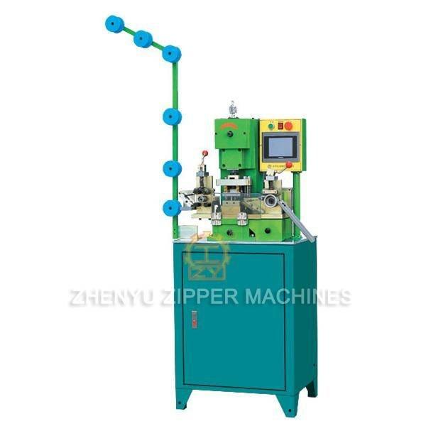 Auto Metal Zipper CNC Gapping&Stripping Machine ZY-105M-E
