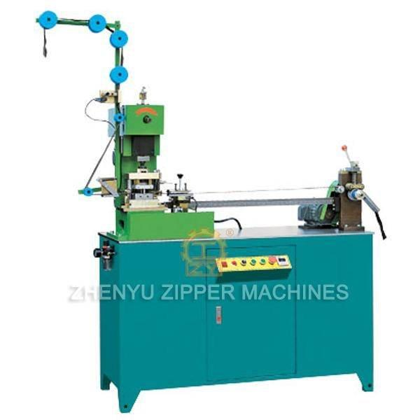 Fully Auto Metal Zipper Gapping & Stripping Machine