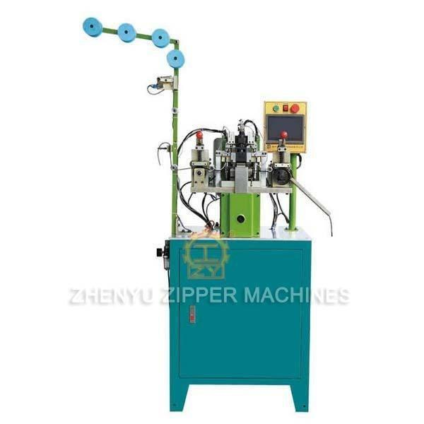 Automatic Nylon Zipper Gapping & Stripping Machine ZY-102N-G
