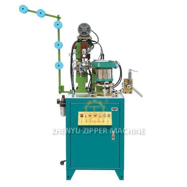 ZY-706M Völlig Selbstmetallreißverschlussstift und Kastenpressmaschine